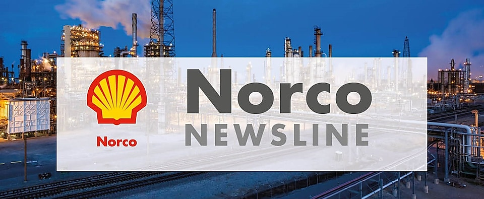 Norco newsletter logo with shell