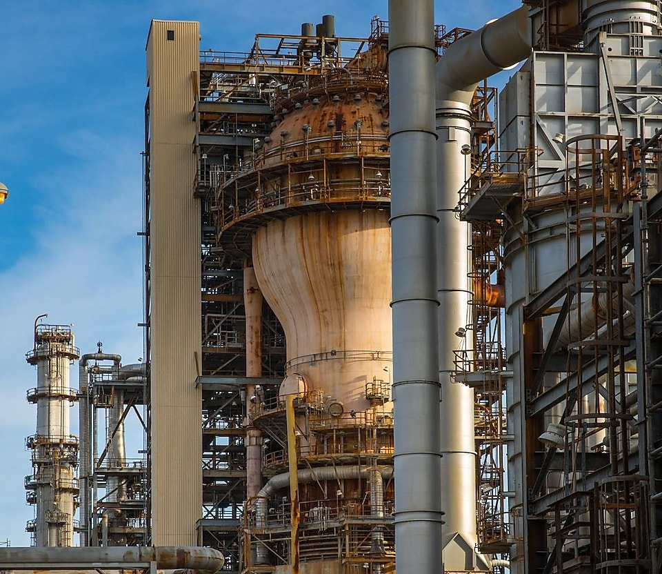 Norco shell refinery plant