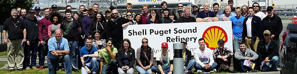 Bellingham Technical College Process Technology students tour Shell Puget Sound Refinery