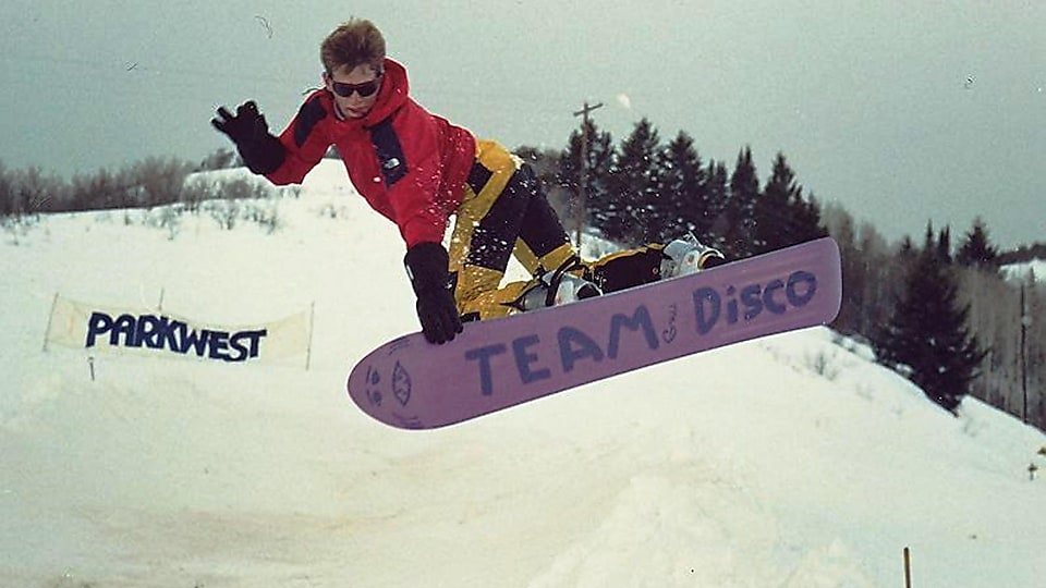 Donnelly was a pro snowboarder