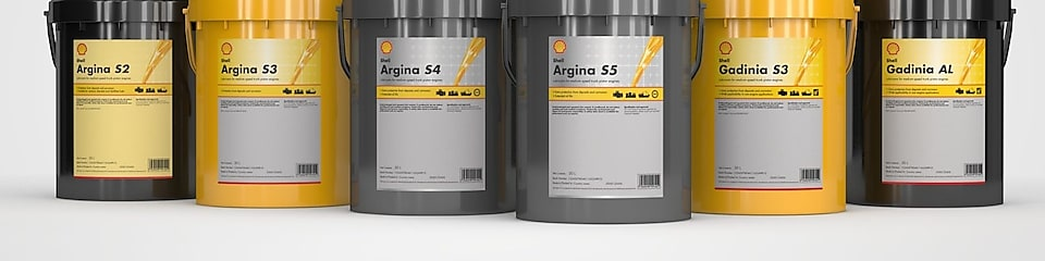 Image of 6 shell argina and gadinia tubs lined up to show the product family