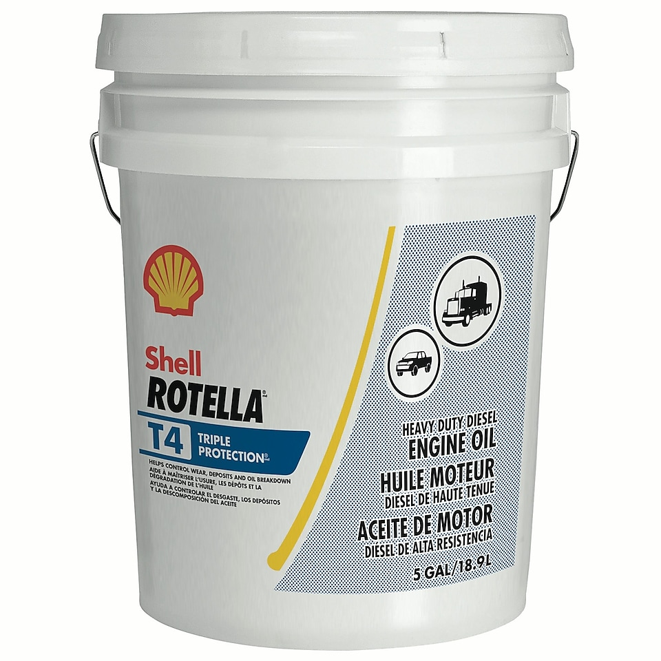Shell ROTELLA® T4 Triple Protection®