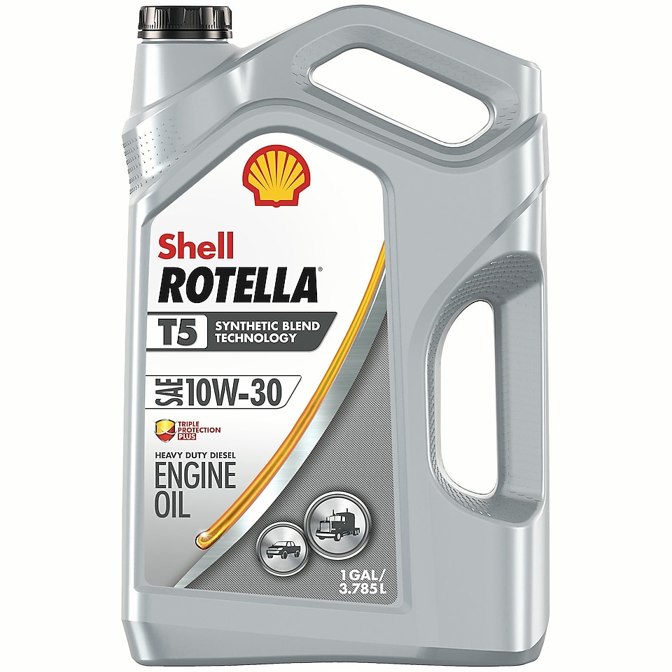 Shell ROTELLA® T5 10w30 engine Oil
