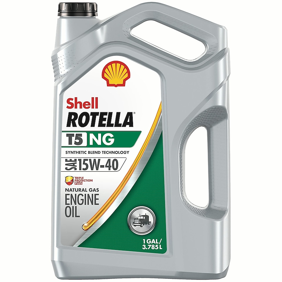 Shell ROTELLA® T5 NG 15w 40 engine oil