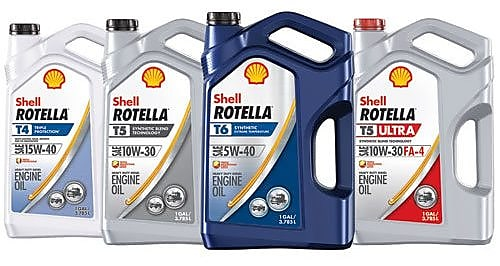 Heavy-duty diesel engine oil Shell Rotella T6
