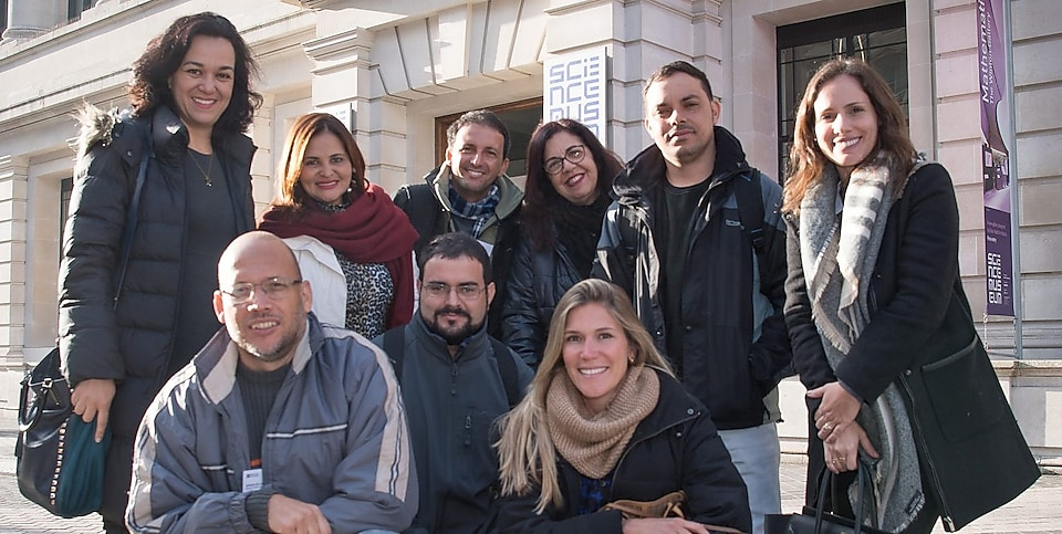 Visit of Brazilian teachers to London 2017