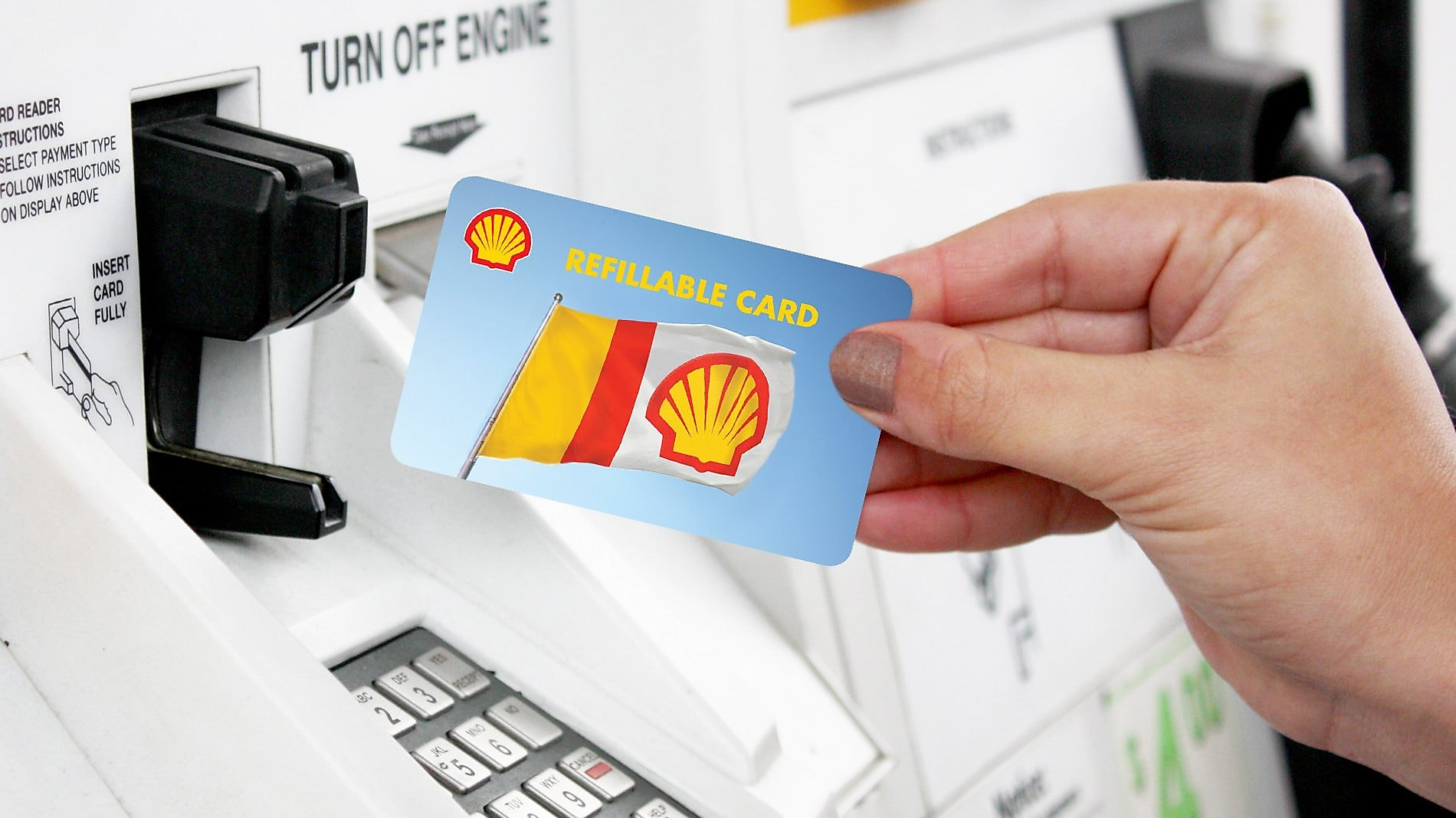 Shell Refillable Card | Shell United States