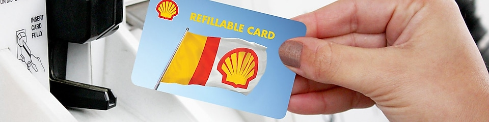 Shell Refillable Card Shell United States