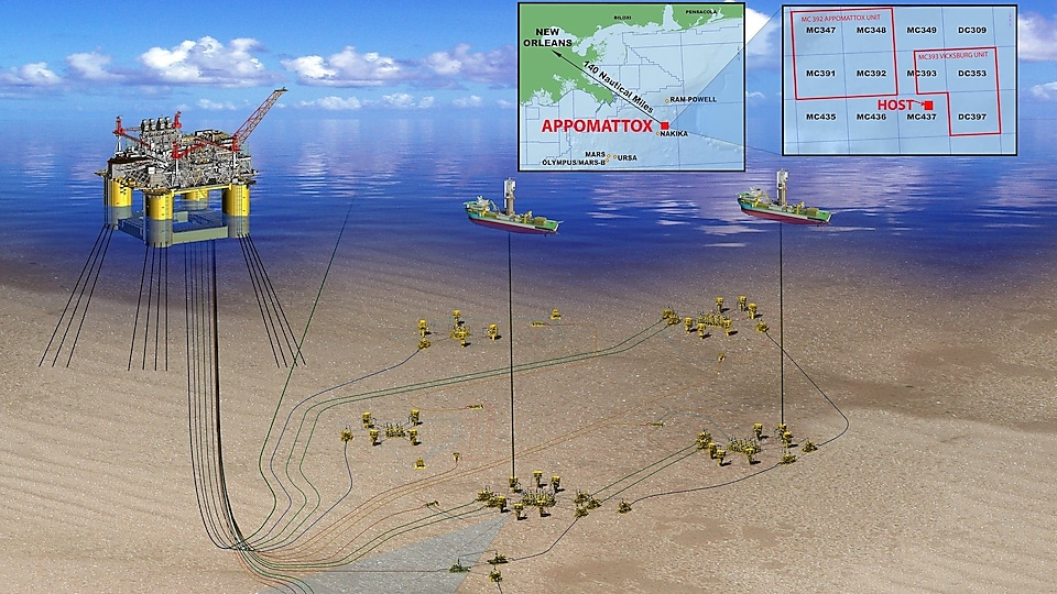 In July 2015, Shell announced Final Investment Decision (FID) on the Appomattox deep-water development in the Gulf of Mexico.