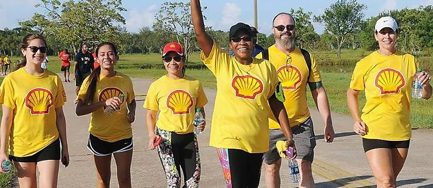 Shell Joins the United Negro College Fund Walk for Education