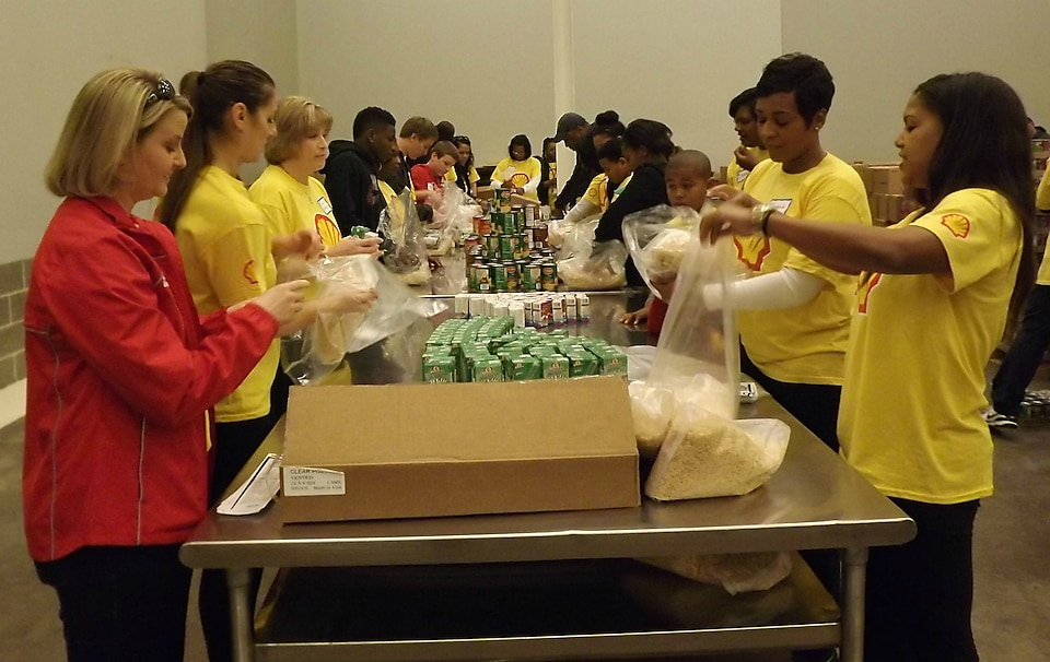 According to the Houston Food Bank, over the past 30 years Shell volunteers have provided over 10,000 hours of service to support these efforts.