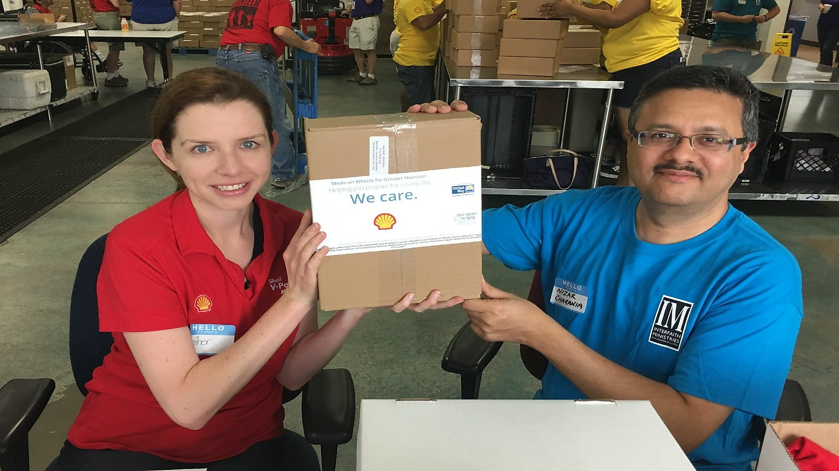 Shell fuels meals on wheels in Houston to fight hunger