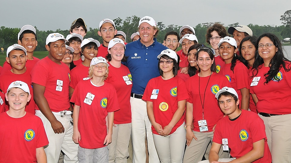 2001 Shell Houston Open Champion Phil Mickelson.