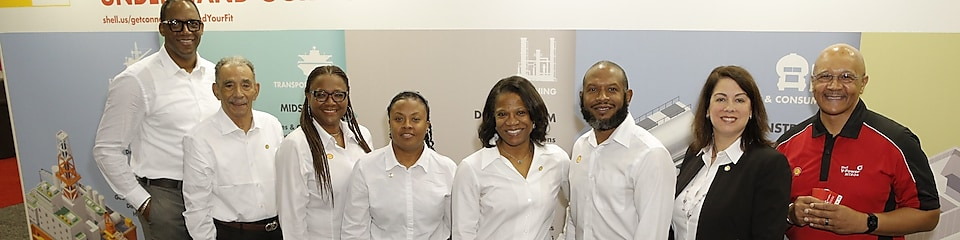 Shell Supplier Diversity at a conference
